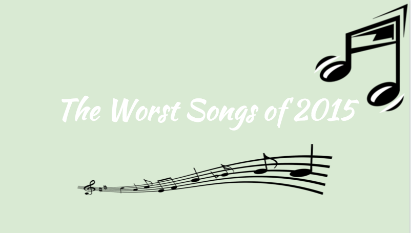 The worst songs of 2015