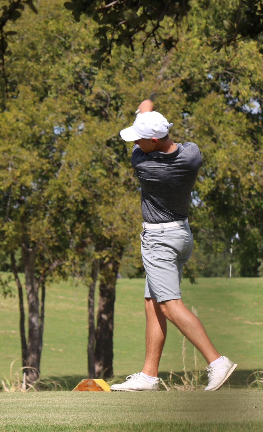 Junior Zach Willard earned trip to State. He's the first CTHS golfer to make it to State.